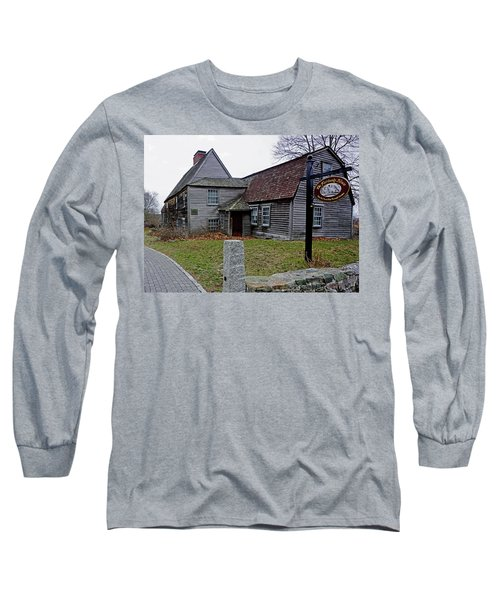 The Fairbanks House Long Sleeve T-Shirt