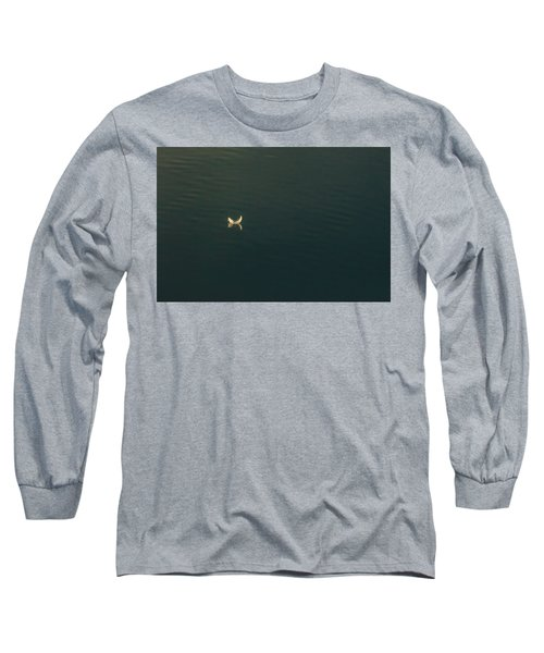 Long Sleeve T-Shirt featuring the photograph The Feather 2 by Timothy Latta