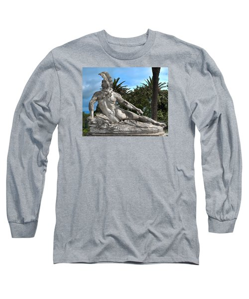 Long Sleeve T-Shirt featuring the photograph The Feather by Richard Ortolano