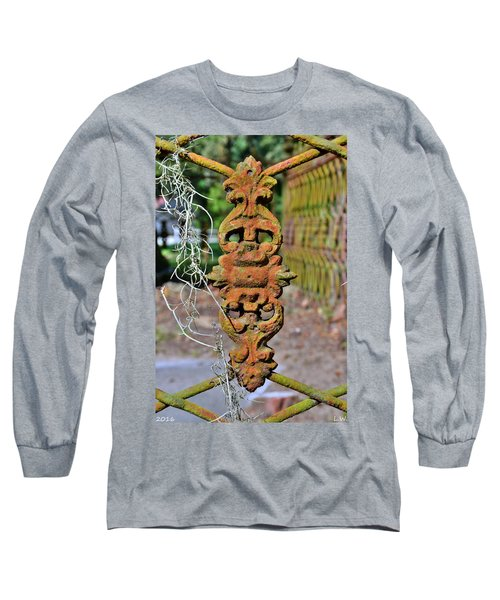The Fence At The Chapel Of Ease St. Helena Island Beaufort Sc Long Sleeve T-Shirt