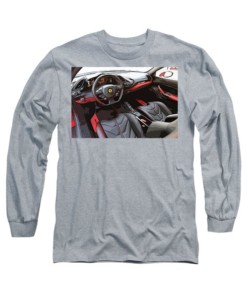 The Ferrari 488 2016 Long Sleeve T-Shirt