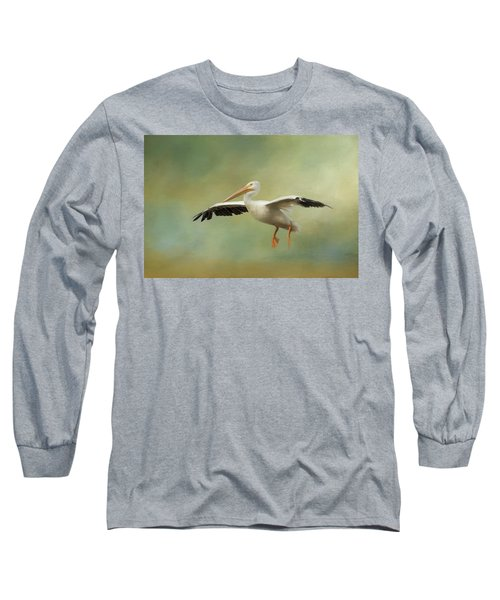 Long Sleeve T-Shirt featuring the photograph The Final Approach by Kim Hojnacki