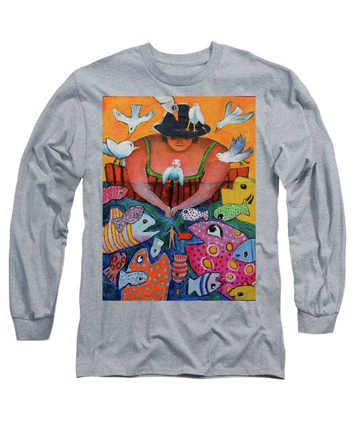 The Fisherman's Almanac Long Sleeve T-Shirt