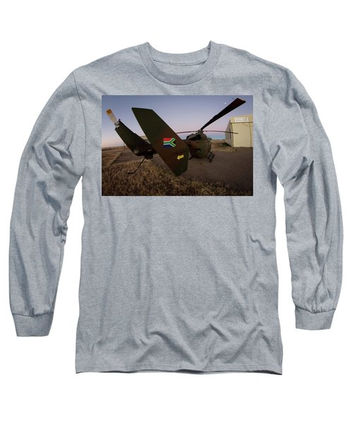 Long Sleeve T-Shirt featuring the photograph The Flag by Paul Job