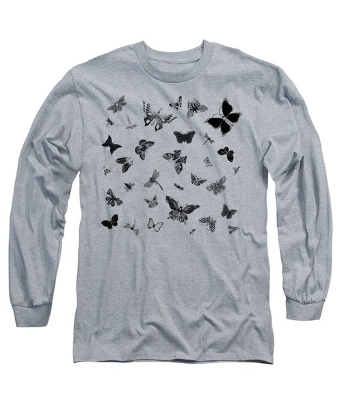 The Flutter And Fly Long Sleeve T-Shirt
