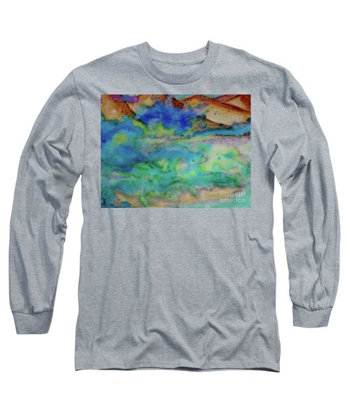 The Fog Rolls In Long Sleeve T-Shirt by Kim Nelson