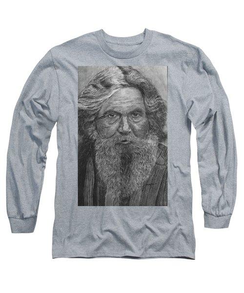 The Folk Singer Long Sleeve T-Shirt