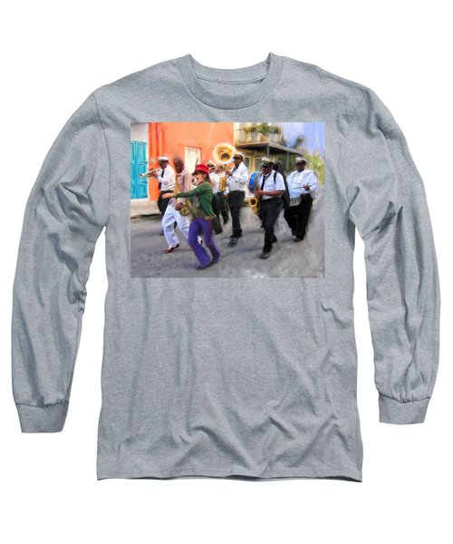 The French Quarter Shuffle Long Sleeve T-Shirt
