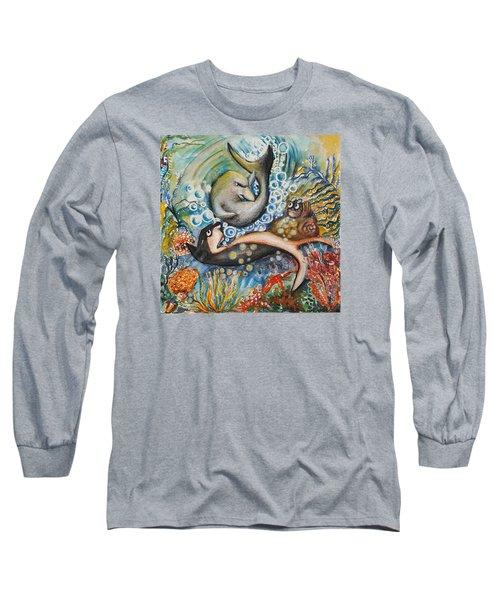 Friends 2 Long Sleeve T-Shirt by Rita Fetisov
