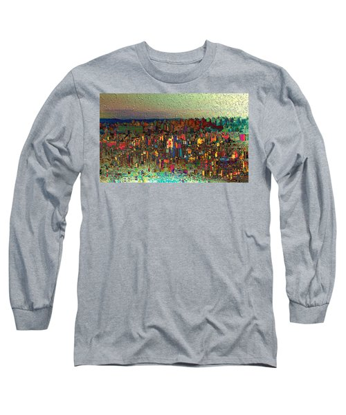 The Fun Side Of Town Long Sleeve T-Shirt
