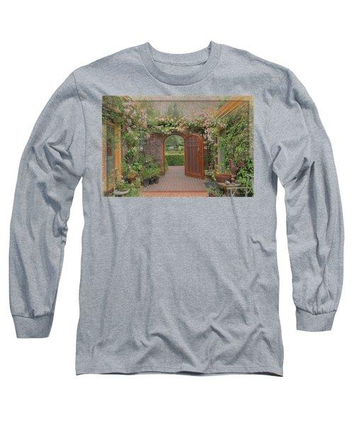 The Garden Door Long Sleeve T-Shirt