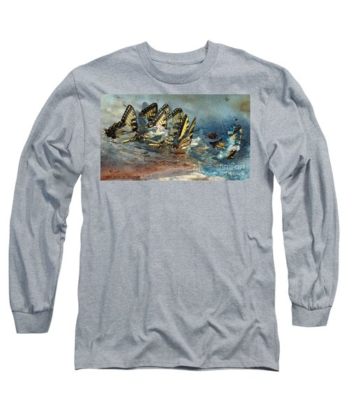 The Gathering Long Sleeve T-Shirt by Kathy Russell