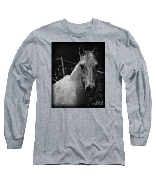 The General Long Sleeve T-Shirt by Clare Bevan