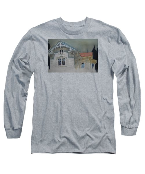 the Ginger Bread House Long Sleeve T-Shirt