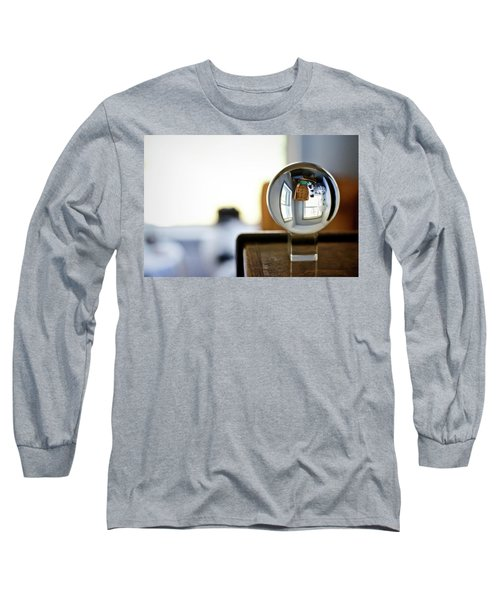 The Globe With Dog Long Sleeve T-Shirt