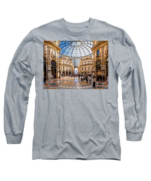 The Golden Hall Long Sleeve T-Shirt by Giuseppe Torre