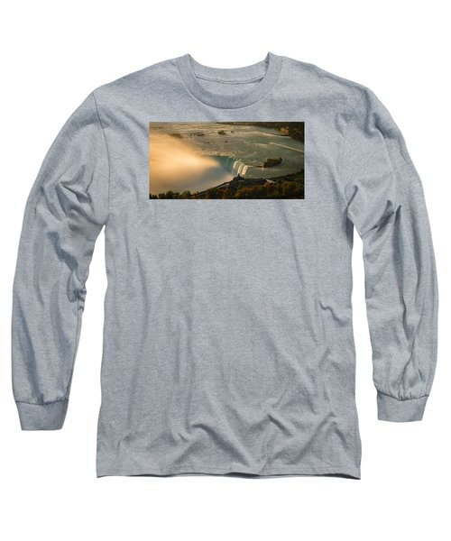 The Golden Mist Of Niagara Long Sleeve T-Shirt