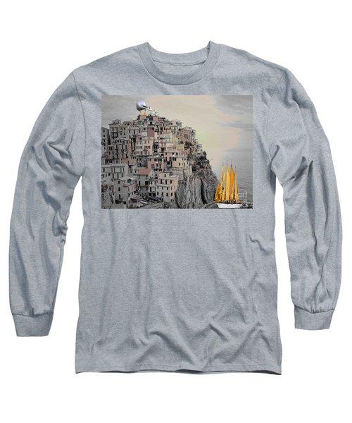 The Golden Sails Long Sleeve T-Shirt