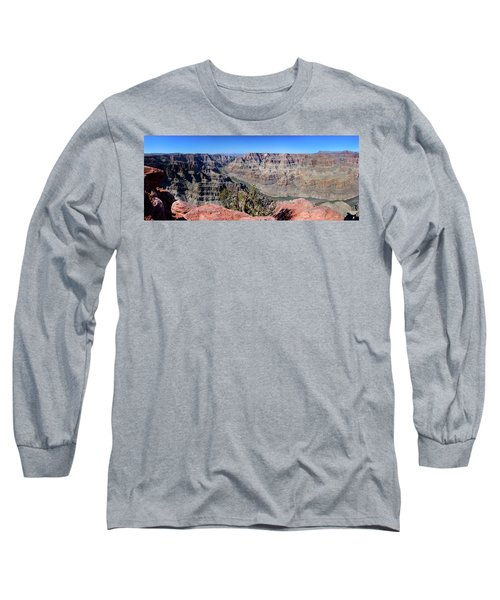 The Grand Canyon Panorama Long Sleeve T-Shirt