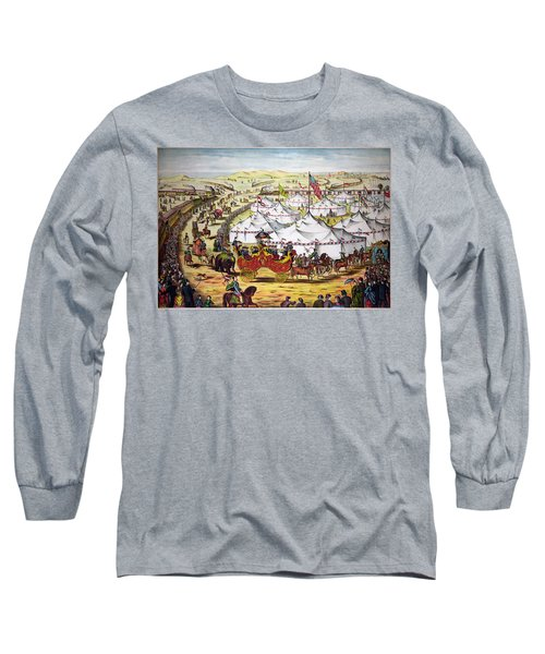 The Grand Layout, Chromolithograph 1874 Long Sleeve T-Shirt