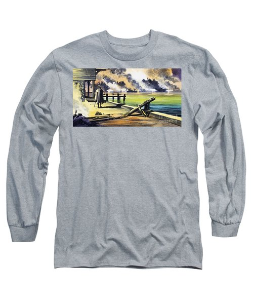 The Great Fire Of London Long Sleeve T-Shirt