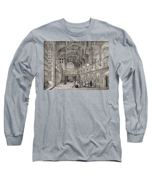 The Great Hall, Hampton Court Palace Long Sleeve T-Shirt