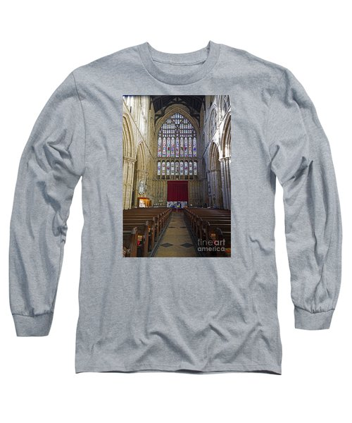 The Great West Window Long Sleeve T-Shirt by David  Hollingworth