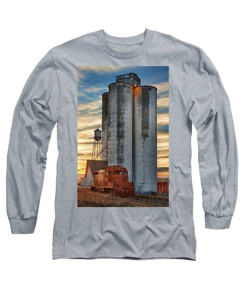 The Great Western Sugar Mill Longmont Colorado Long Sleeve T-Shirt
