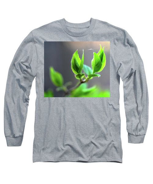 The Green Leaf Long Sleeve T-Shirt