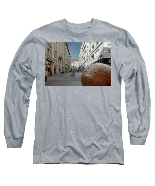 The Grounded Sun Zagreb Long Sleeve T-Shirt by Steven Richman