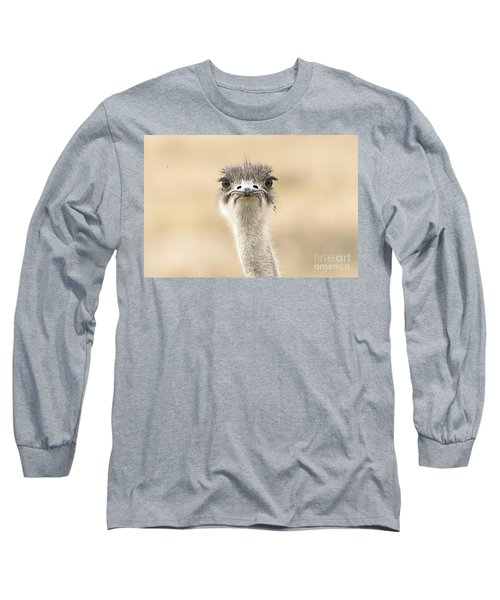 Long Sleeve T-Shirt featuring the photograph The Grump by Pravine Chester