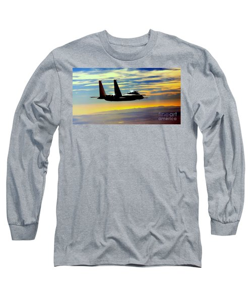 Long Sleeve T-Shirt featuring the photograph The Guardian by Greg Moores