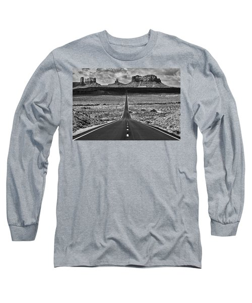 Long Sleeve T-Shirt featuring the photograph The Gump Stops Here by Darren White