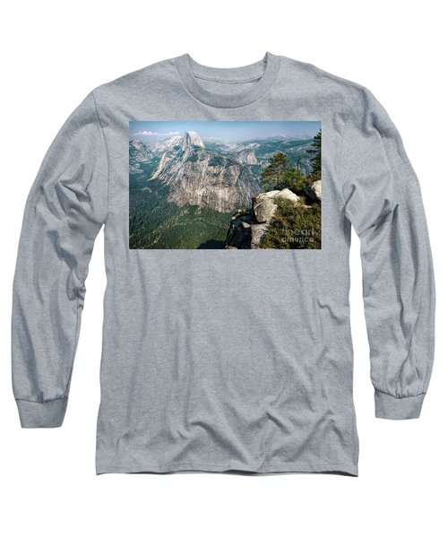 The Half Dome Yosemite Np Long Sleeve T-Shirt