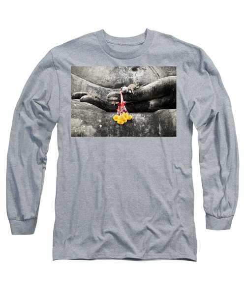 The Hand Of Buddha Long Sleeve T-Shirt