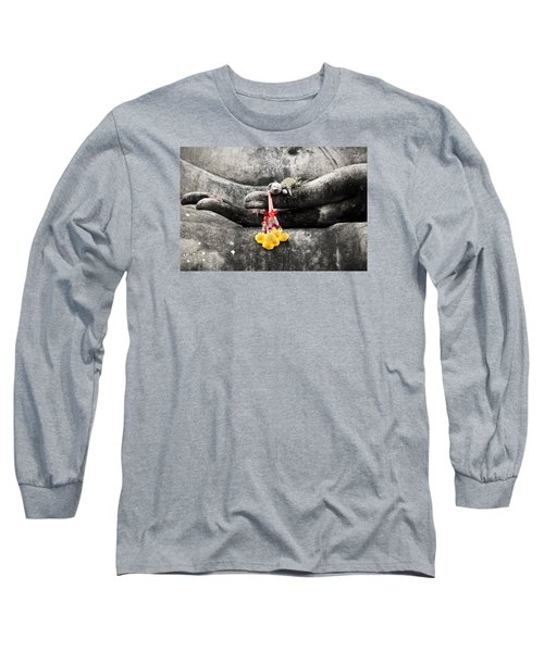 The Hand Of Buddha Long Sleeve T-Shirt