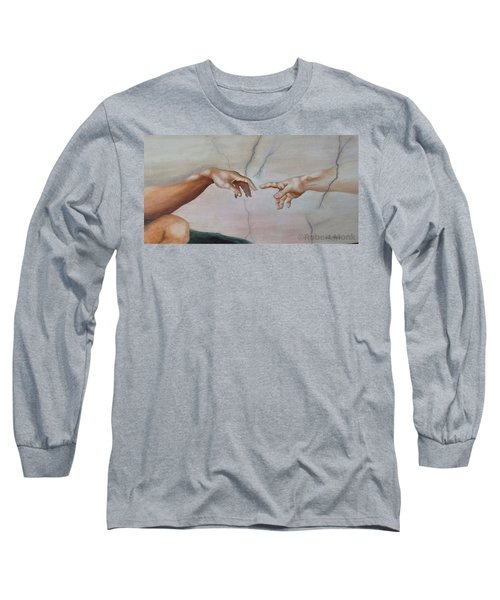 The Hand Of God Long Sleeve T-Shirt