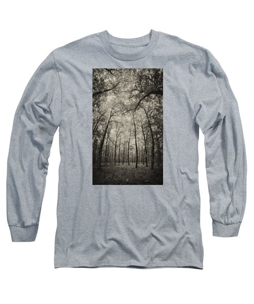 The Hands Of Nature Long Sleeve T-Shirt by Stavros Argyropoulos