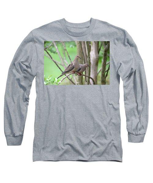 The Happy Couple Long Sleeve T-Shirt by Trina Ansel