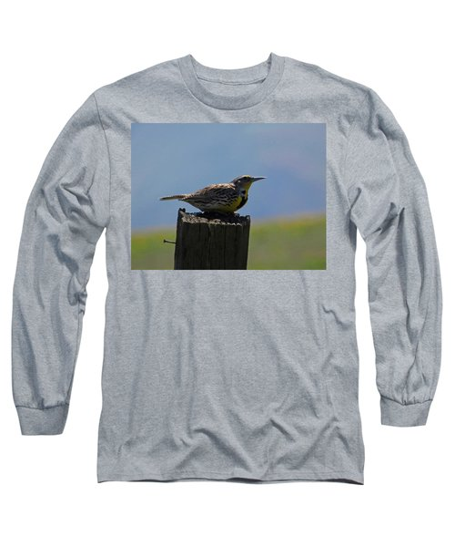The Hawk Squat Long Sleeve T-Shirt