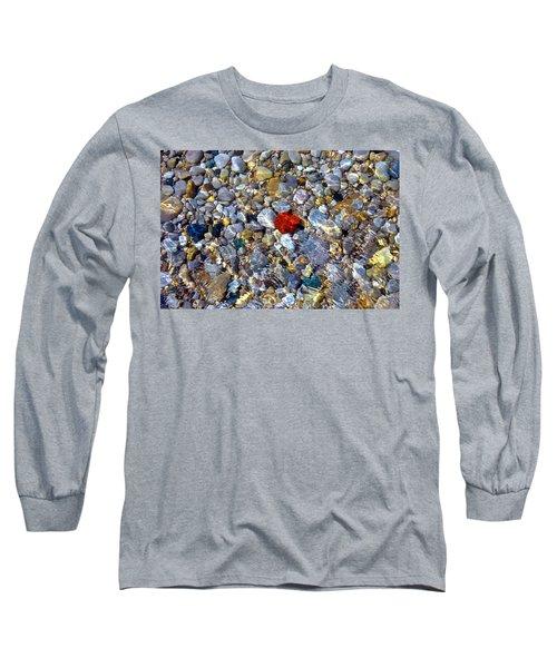 The Heart Of Lake Michigan Long Sleeve T-Shirt