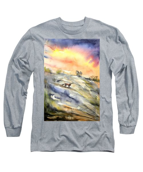 The Hill Of The Foxes Long Sleeve T-Shirt