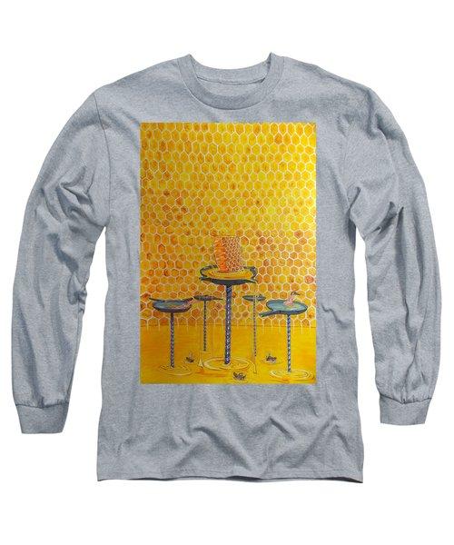 The Honey Of Lives Long Sleeve T-Shirt by Lazaro Hurtado