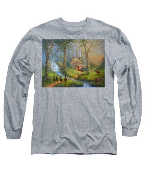 The House Of Tom Bombadil.  Long Sleeve T-Shirt by Joe  Gilronan