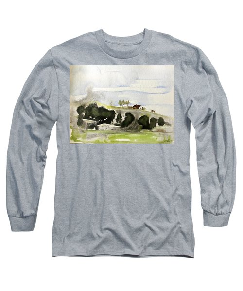 The House On The Hill Long Sleeve T-Shirt