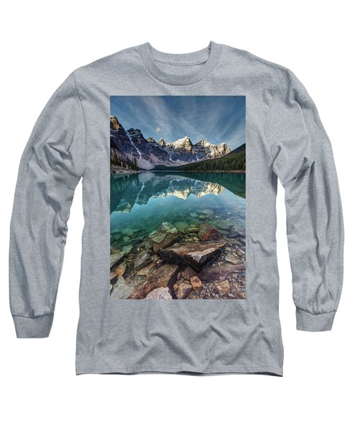 The Iconic Moraine Lake Long Sleeve T-Shirt
