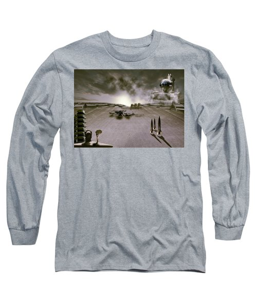 The Industrial Revolution Long Sleeve T-Shirt by Nathan Wright