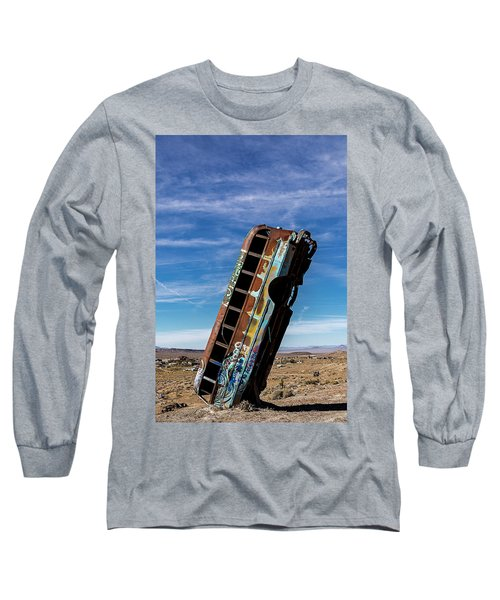 Long Sleeve T-Shirt featuring the photograph The International Car Forest Of The Last Church 2 by James Sage