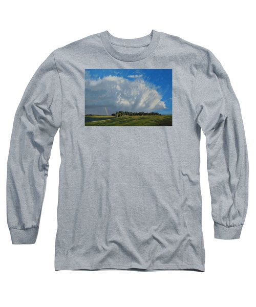 The June Rains Have Passed Long Sleeve T-Shirt by Bruce Morrison