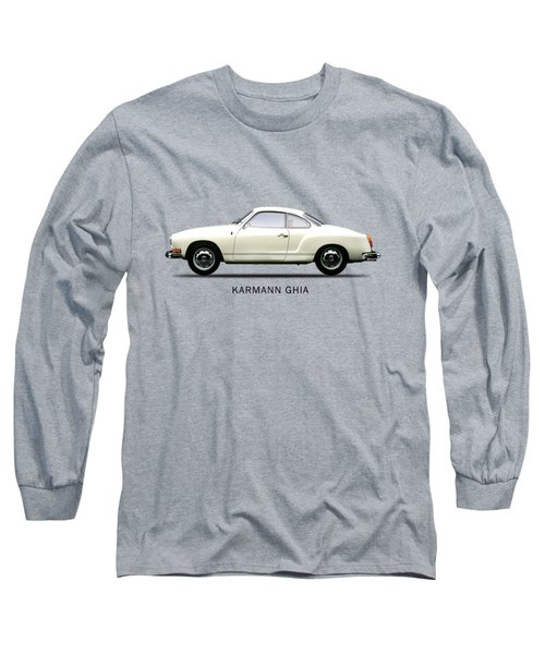 The Karmann Ghia Long Sleeve T-Shirt by Mark Rogan
